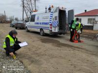 Эксперты изучили качество новых дорог Евгеньевки в сельской зоне Аксу