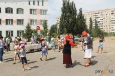 В Павлодаре жители Усольского микрорайона начали отмечать День города
