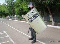 На территории села Красноармейка проводятся плановые антитеррористические учения