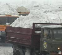 Павлодарские коммунальщики вывезли на полигон более пяти тысяч тонн снега