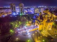 20 лет со дня открытия Благовещенского собора отметили в Павлодаре