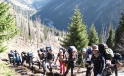 Туристы экибастузского клуба «ЗЮВС» готовятся к очередному походу