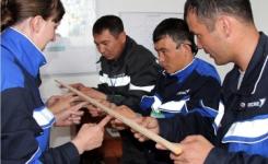 В Аксу молодые рабочие Казахстана и России соревновались в мастерстве