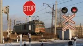 Тепловоз столкнулся с микроавтобусом в Павлодарской области