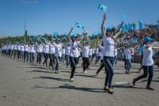 Более пяти тысяч участников выступило на форуме, посвященном Дню государственных символов Казахстана