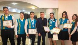 Павлодарская школьница стала абсолютной победительницей республиканской олимпиады