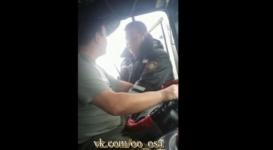 Конфликт дальнобойщика с жамбылским полицейским получил продолжение
