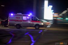 Два человека погибли и семеро серьезно пострадали в результате аварии на трассе Павлодарской области