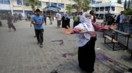 В секторе Газа при взрыве у школы ООН убиты 10 человек