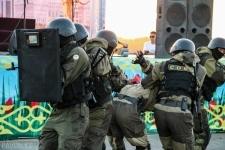 В Павлодаре проходят антитеррористические учения