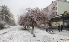 Потепление и мокрый снег прогнозируют синоптики