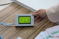 Портативный прибор для определения качества воздуха презентовали от научного центра павлодарского вуза