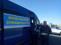 """50 павлодарцев получили электронно-цифровые подписи в рамках мобильной акции """"Приёмная на дороге"""""""