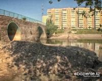 Пешеходный мост через Усолку превратился в автомобильный