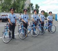 Полицейские экибастузского велопатруля за минувшие выходные раскрыли 11 преступлений