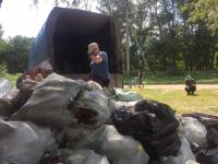 Павлодарцы очередной раз собрались, чтобы убрать берег Усолки