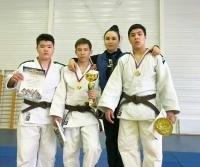 Павлодарцы привезли из России золотые медали с соревнований по дзюдо