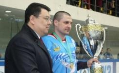 Павлодарцы поздравили хоккеистов команды «Иртыш», ставших дважды чемпионами Казахстана