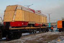 Первый белорусский трамвай прибыл в Павлодар