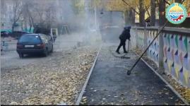 Подрядчик перестелил асфальт на тротуаре под контролем акимата Павлодара