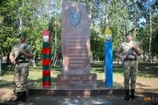 В Павлодаре открыли памятник войнам пограничникам всех поколений