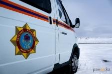 Экибастузские спасатели эвакуировали пассажиров заглохнувшего микроавтобуса