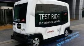 Беспилотные автомобили начали тестировать в Дубае