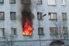 В Павлодаре в результате пожара пострадало восемь человек