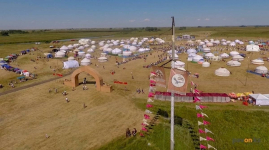 """Более семидесяти делегатов из разных стран приехали на открытие фестиваля """"Ұлы дала"""""""