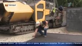 Строители заблокировали выход из жилого дома в Павлодаре