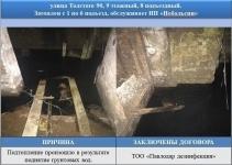 Председателям КСК напомнили о необходимости осушить подвалы
