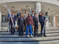 В Прииртышье выпускник подарил родной школе спортинвентарь на полмиллиона тенге