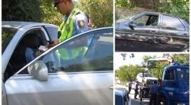 Активист с видеокамерой застал врасплох полицейских Шымкента