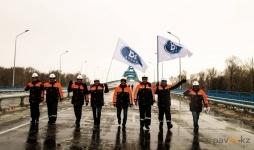 В Павлодаре открыт мост 25-летия Независимости Республики Казахстан