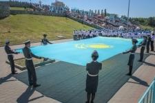 Павлодар отметил день государственных символов - фото
