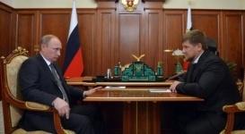 Кадыров доложил Путину о завершении спецоперации в Грозном