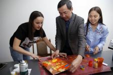 Арт-терапию в работе с особенными детьми предлагают использовать студенты ПГУ