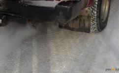 Пешеход попал под колеса автомобиля в одном из поселков в Павлодарской области