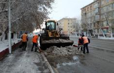 Спецтехника по уборке снега выехала на улицы Павлодара