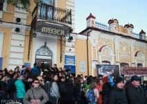 Павлодарскую ночь в музее посетил восьмидесятилетний киномеханик Яков Коновалов