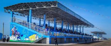 Фоторепортаж с открытия ипподрома Кулагер