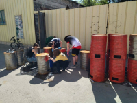 На территории гослесфонда в Павлодарской области разместят урны для раздельного сбора мусора