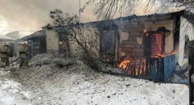 Трое мужчин сгорели во время пожара в Павлодарской области