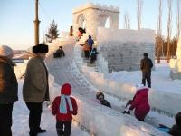 В царстве ледяных скульптур