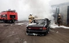 В нынешнем году в Павлодарской области сгорело 94 автомашины