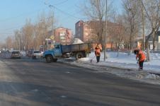220 тысяч тонн снега вывезено с улиц Павлодара