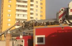 Пожар в Астане: горит российское посольство (фото и видео)