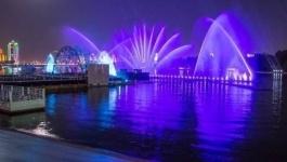 Десятки тысяч казахстанцев стали свидетелями красивейшего лазерно-светового шоу в Астане