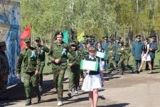 Воспитанники детских домов провели эстафету в честь Дня Победы