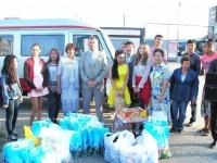 Более 14 тысяч детей получили помощь в рамках акции «Дорога в школу»